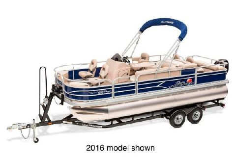 2017 Sun Tracker Fishin' Barge 22 DLX Manufacturer Provided Image
