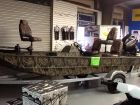 2015 Lowe Roughneck 1650 Bass Boat