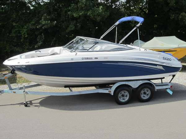 New and used boats for sale on for Yamaha sx210 boat cover