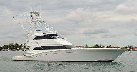 2007 83' Custom Sea Force IX Enclosed Bridge Convertible Black Shadow
