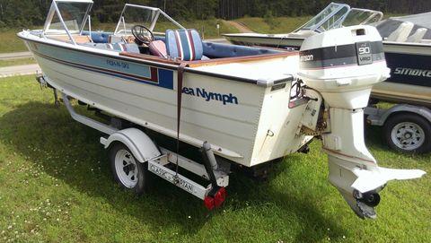 1985 Sea Nymph SS175 FISH & SKI