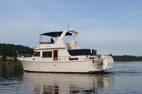 1985 Monk/CHB Trawler Port side
