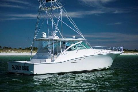 2001 Cabo yachts 45 Express Profile