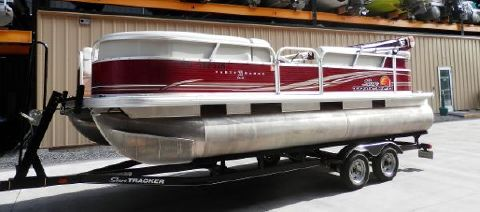 2012 Bass Tracker 22 PARTY BARGE DLX