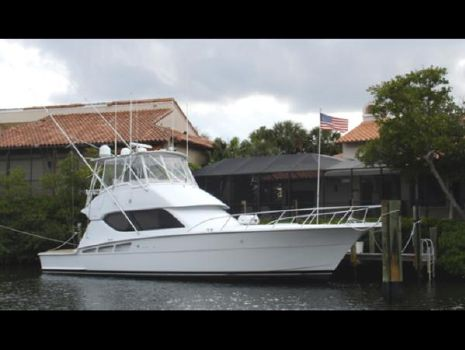 2001 Hatteras 50 Convertible SF Profile