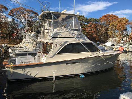 1986 Ocean Yachts 38 Super Sport Profile