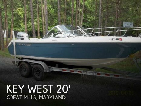 2010 Key West 2020 Dual Console 2010 Key West 2020 Dual Console for sale in Great Mills, MD