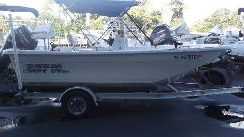 2009 Carolina Skiff 178 DLV Center Console
