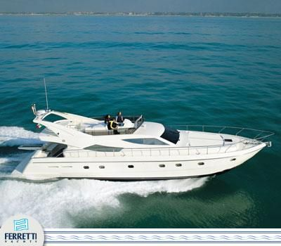 2003 Ferretti Yachts 620 Manufacturer Provided Image: 620