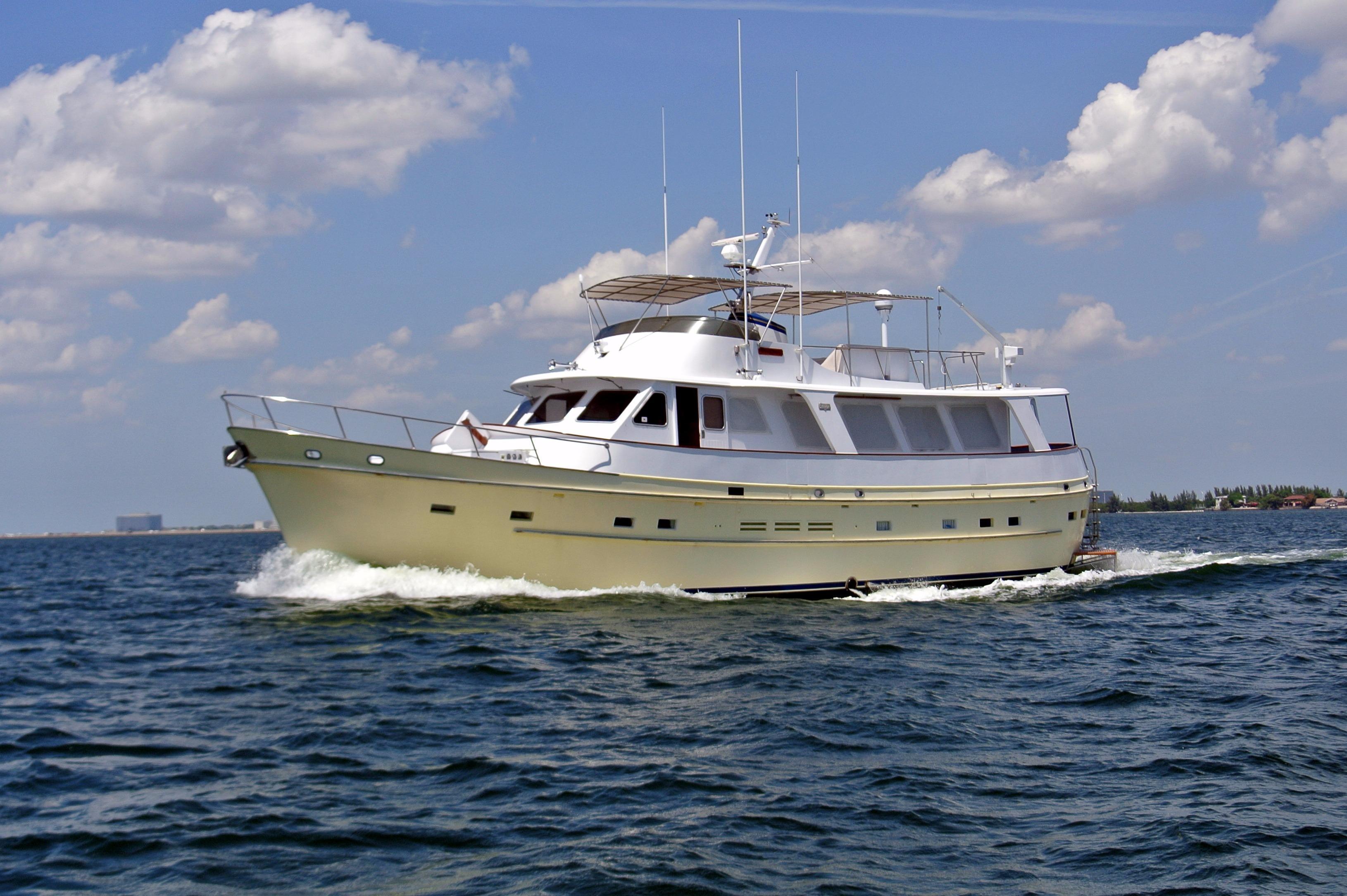 1986 Cheoy Lee 66 Long Range Cruiser