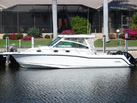 2015 Boston Whaler 345 Conquest Across Canal Photo 1