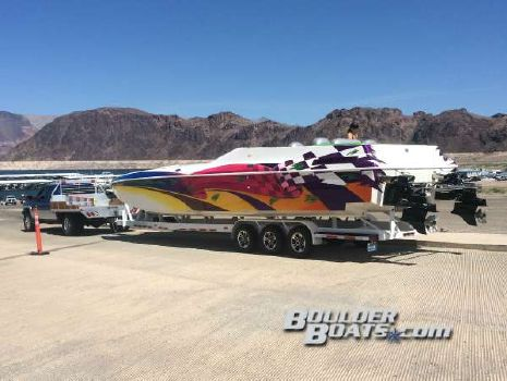 2002 Awesome Powerboats 38 Signature