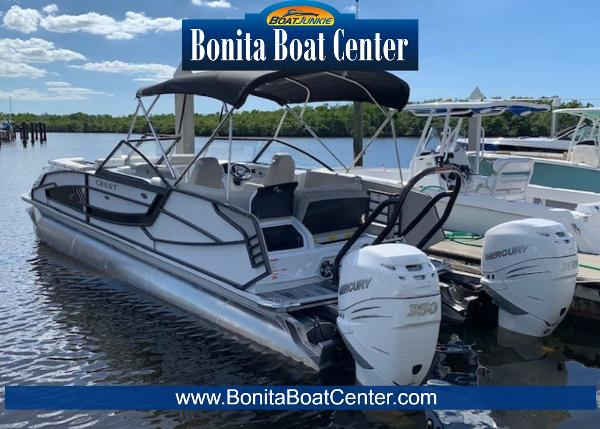 2019 Crest Continental 270 NX-L Twin Engine Pontoon Boat