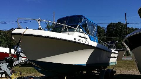1980 Sea Ox 230 Walk Around