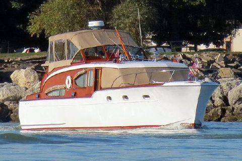 1953 Chris-Craft 45 Double Cabin Flybridge Cruiser 45 Chris Craft Double Cabin Flybridge Cruiser 1953