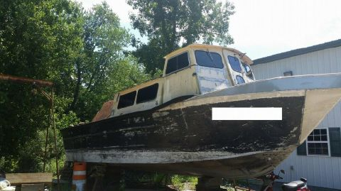 1980 Monark Workboat 36 1980 MonArk Workboat 36 for sale in Millville, DE