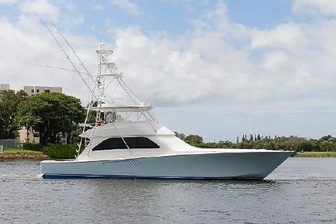 2008 Viking 64 Convertible Oil Slick