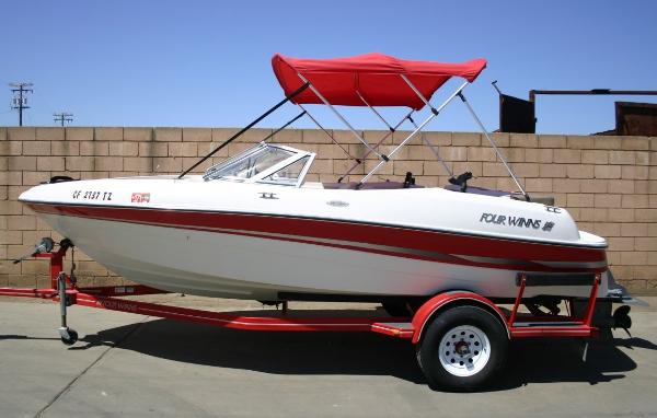 2002 Four Winns 180 Horizon Fish & Ski