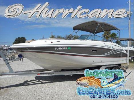 2013 Hurricane SunDeck 2400 OB