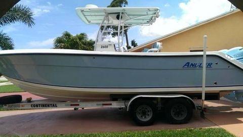2008 Angler 2600 CC