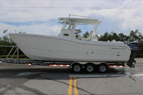 2018 World Cat 295 Center Console