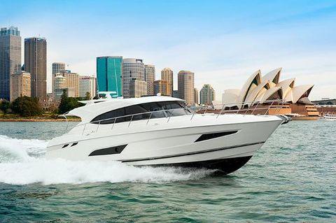 2017 Riviera 5400 Sport Yacht- IN STOCK!