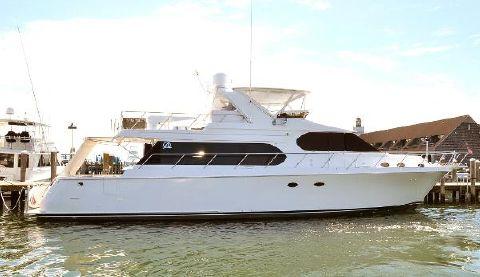 2003 Ocean Alexander 64 MOTOR YACHT Starboard Side