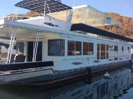 2004 Sunstar 18' x 84' Houseboat