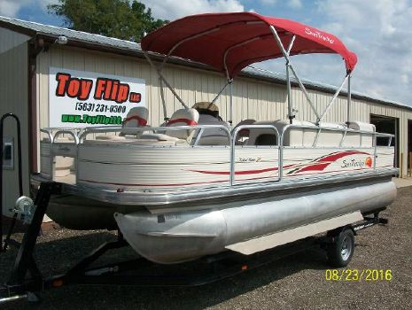 2009 Tracker Fishing Barge 21