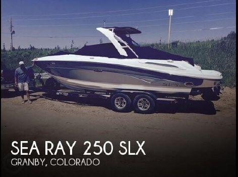 2007 Sea Ray 250 SLX 2007 Sea Ray 250 SLX for sale in Granby, CO