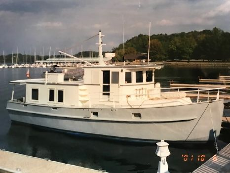 1989 Custom Steel Hull Trawler