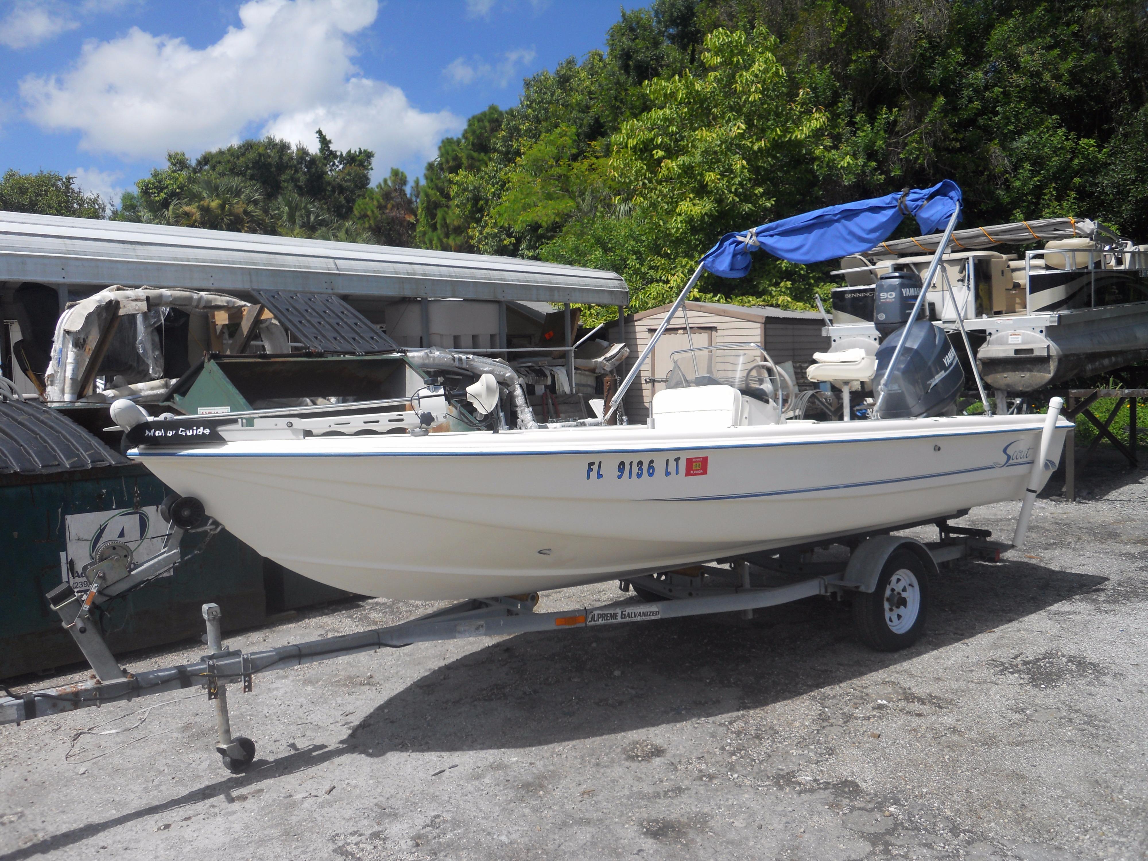2001 Scout Boats 177 Sportfish