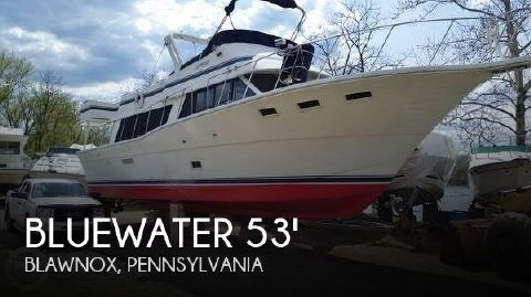 1982 Blue Water 5300 Sedan MY 1982 Bluewater 5300 Sedan MY for sale in Blawnox, PA