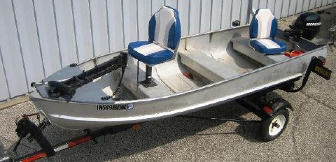 1972 Starcraft V-hull aluminum