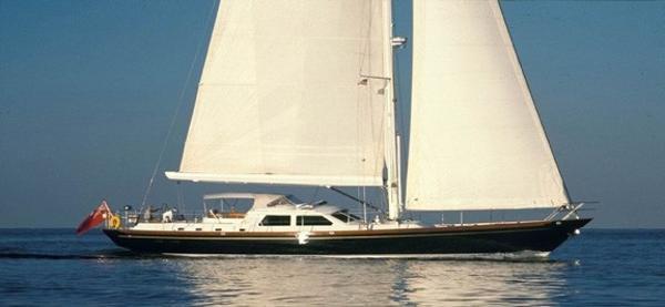 1998 Sensation Yachts 73' Sensation Sailing