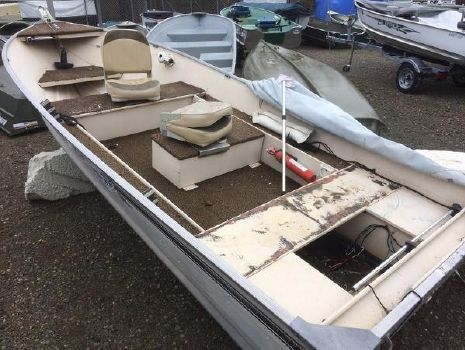 1983 Sea Nymph 14' Pike Attacker Tiller