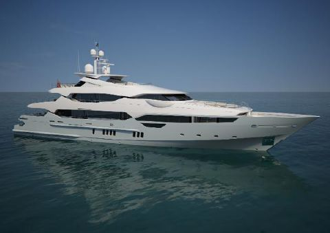 2014 Sunseeker TEST LISTING Manufacturer Provided Image: Sunseeker 155 Yacht