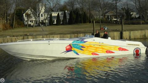 1998 Apache Powerboats 36 Warrior