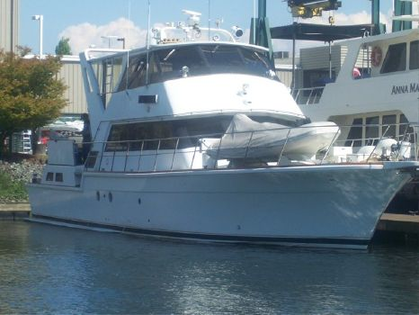 1981 Custom 68' Stretched Bertram 58' Yachtfisher