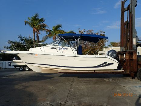 2002 Cobia 25 WALKAROUND