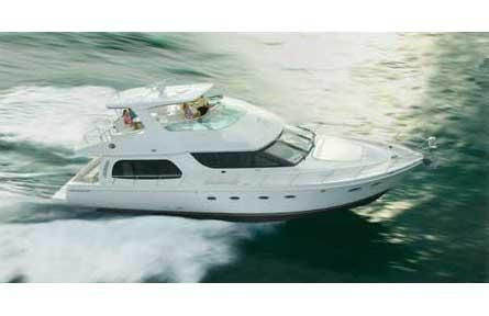 2006 Carver 56 Voyager, Carver 56 Voyager Pilot House Manufacturer Provided Image