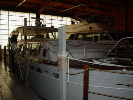 1962 Chris Craft1 50 Constellation Dockside