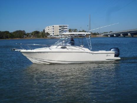 2004 Scout 242 Abaco PORT UNDERWAY