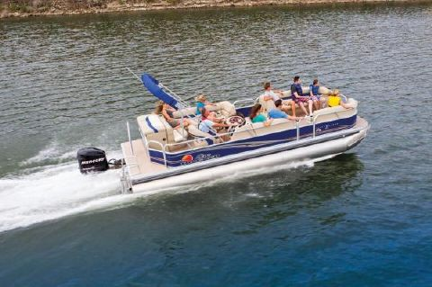 2018 Sun Tracker Party Barge 24 DLX XP3 Manufacturer Provided Image