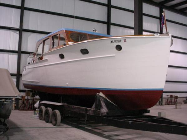 1941 Chris Craft Double Cabin Enclosed Cruiser