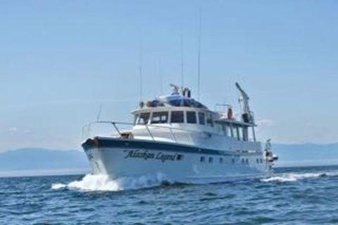 1970 Onetta Boat Works PilothouseMotoryacht 1970/2014 Underway