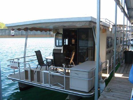 1985 Landau Boat Co 12 x 40 Pontoon Houseboat
