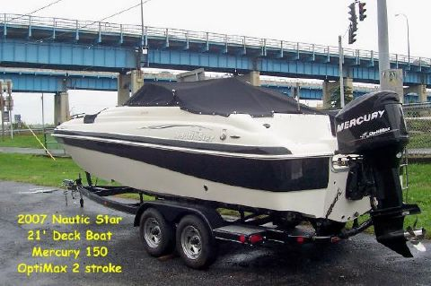 2007 Nautic Star 210 Dc