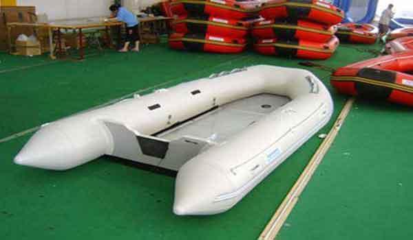 2015 Allmand Alluminium Floor Boat