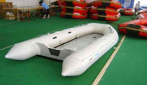 2016 Allmand Alluminium Floor Boat